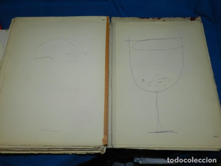 Libros de segunda mano: (M) FREGOLI - LIBRO + LIBRO PROYECTO ORIGINAL JOAN BROSSA Y ANTONI TAPIES , ANOTACIONES MANUSCRITAS - Foto 42 - 139329726