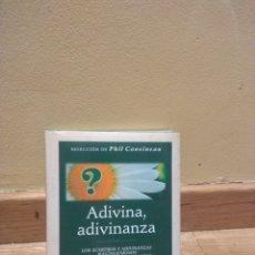Libros de segunda mano: ADIVINA ADIVINANZA PHIL COUSINEAU. Lote 139362605