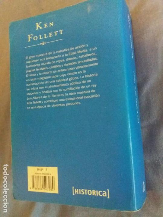 Libros de segunda mano: LOS PILARES DE LA TIERRA - Foto 2 - 139426926