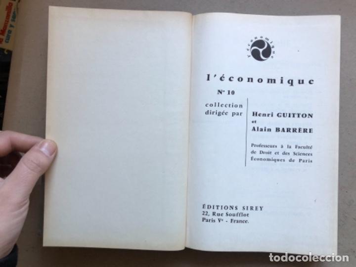 Libros de segunda mano: GÉOGRAPHIE INDUSTRIELLE (TOME 1), LES SOUTCEW D'ÉNERGIE. J. CHARDONNET. SIREY 1962. EN FRANCÉS - Foto 2 - 139510066