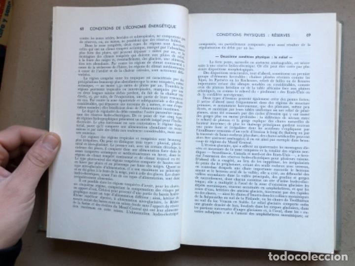 Libros de segunda mano: GÉOGRAPHIE INDUSTRIELLE (TOME 1), LES SOUTCEW D'ÉNERGIE. J. CHARDONNET. SIREY 1962. EN FRANCÉS - Foto 6 - 139510066