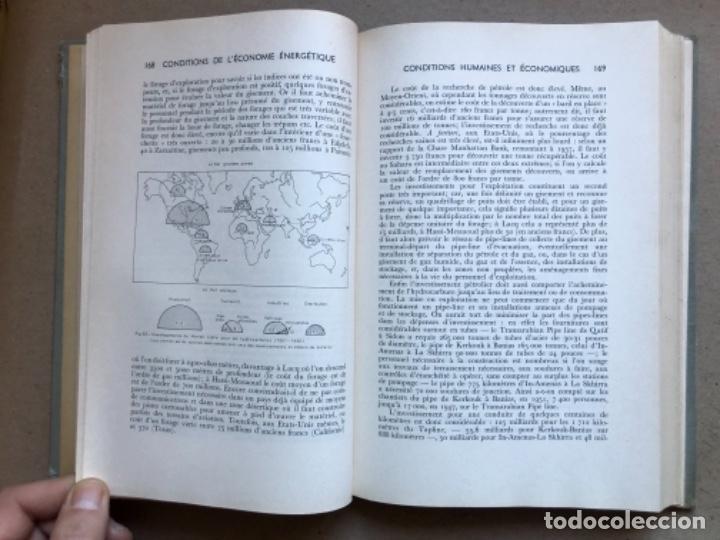 Libros de segunda mano: GÉOGRAPHIE INDUSTRIELLE (TOME 1), LES SOUTCEW D'ÉNERGIE. J. CHARDONNET. SIREY 1962. EN FRANCÉS - Foto 8 - 139510066