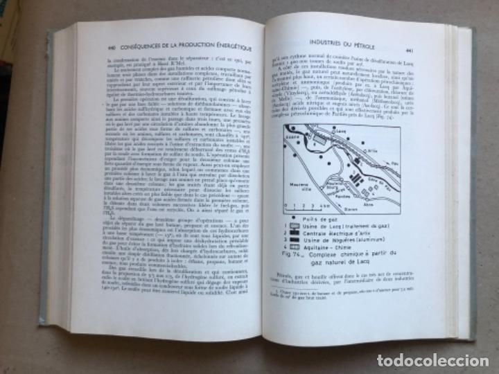 Libros de segunda mano: GÉOGRAPHIE INDUSTRIELLE (TOME 1), LES SOUTCEW D'ÉNERGIE. J. CHARDONNET. SIREY 1962. EN FRANCÉS - Foto 12 - 139510066
