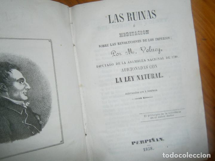 Libros de segunda mano: ¡¡LAS RUINAS ¡NOSE SI FALTA ALGUNA PAGINA¡¡BUENA EDICCION¡¡ - Foto 6 - 139535838