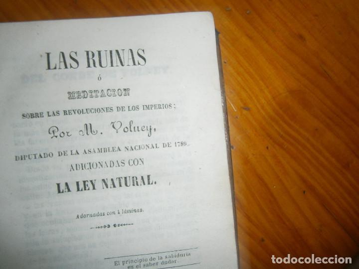 Libros de segunda mano: ¡¡LAS RUINAS ¡NOSE SI FALTA ALGUNA PAGINA¡¡BUENA EDICCION¡¡ - Foto 8 - 139535838