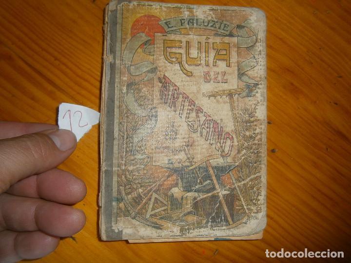 ¡GUIA DEL ARTESANO ''EN MAL ESTADO¡¡ (Libros de Segunda Mano - Bellas artes, ocio y coleccionismo - Otros)