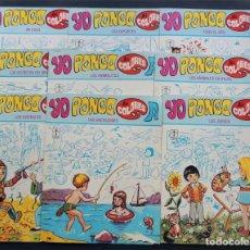 Libros de segunda mano: 9 LIBROS PARA PINTAR / SERIE COMPLETA ( 1-9 ) YO PONGO MIS COLORES / ED. TORAY 1979 / AYNE /SIN USAR. Lote 139577010