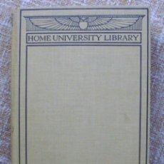 Libros de segunda mano: HOME UNIVERSITY LIBRARY Nº 37/ R.R. MARETT, M.A./ HENRY HOLT & CO./ 1911. Lote 139590622