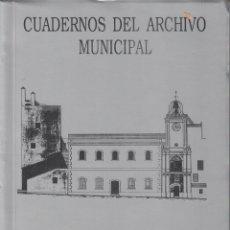 Libros de segunda mano: CUADERNOS DEL ARCHIVO MUNICIPAL. AÑO I, Nº 2, 1988. ILUSTRE AYUNTAMIENTO DE CEUTA.. Lote 139610414
