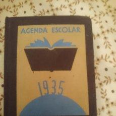 Libros de segunda mano: AGENDA ESCOLAR 1935 - AGOSTINOS --REFM3E3. Lote 139616178
