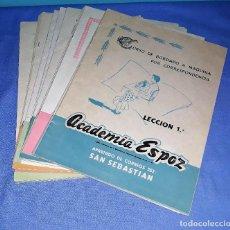 Libros de segunda mano: CURSO DE BORDADO COMPLETO ACADEMIA ESPOZ EN MUY BUEN ESTADO VER FOTO Y DESCRIPCION. Lote 139622566