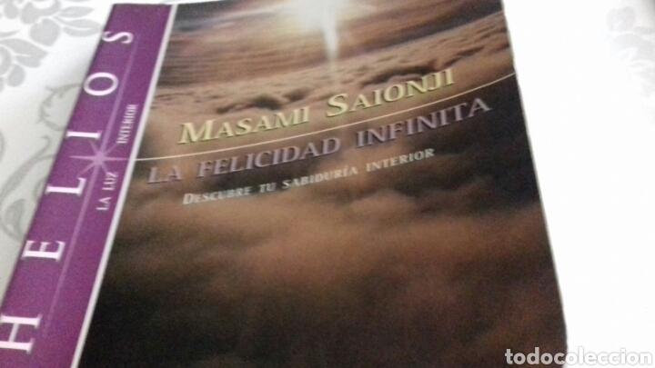 LA FELICIDAD INFINITA MASAMI SAIONJI DESCUBRE TU SABIDURÍA INTERIOR (Libros de Segunda Mano - Pensamiento - Otros)