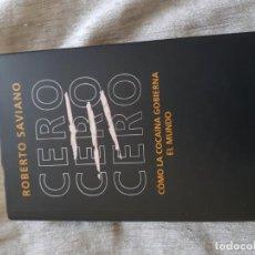 Libros de segunda mano: CERO, CERO, CERO, ROBERTO SAVIANO, TAPA DURA CÍRCULO DE LECTORES. Lote 139629906