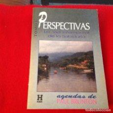 Libros de segunda mano: PERSPECTIVAS, LA VÍA INTEMPORAL DE LA SABIDURÍA, TOMÓ I, AGENDA DE PAUL BRUNTON, EDIC KIER, 1993. Lote 288596633