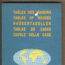 Libros de segunda mano: TABLAS DE CASAS. INTERNATIONAL EDITION. Lote 139758682