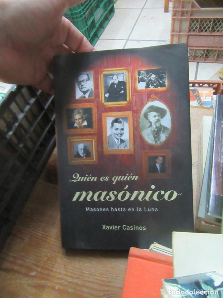 LIBRO QUIÉN ES QUIÉN MASÓNICO XAVIER CASINOS 2003 MARTINEZ ROCA L-14508-248 (Libros de Segunda Mano (posteriores a 1936) - Literatura - Otros)
