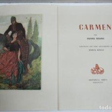 Libros de segunda mano: CARMEN. MERIMÉE, POSPER. [EDICIÓN EN PAPEL JAPÓN.] 1945.. Lote 139867814