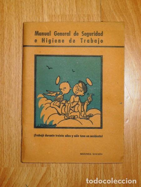 SALINAS SALAZAR, ESTEBAN. MANUAL GENERAL DE SEGURIDAD E HIGIENE EN EL TRABAJO (Libros de Segunda Mano - Ciencias, Manuales y Oficios - Otros)