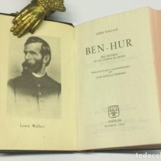 Libros de segunda mano: WALLACE, LEWIS. BEN HUR. MADRID, AGUILAR, 1961. COLECCIÓN JOYA. 2ª EDICIÓN.. Lote 139967486