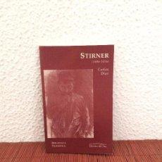 Libros de segunda mano: STIRNER (1806-1856) - CARLOS DÍAZ - ED. DEL ORTO. Lote 139537994