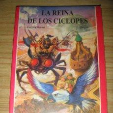 Libros de segunda mano: LA REINA DE LOS CÍCLOPES (S.O.S. TU LIBRO JUEGO DE AVENTURAS Nº 10) JÚCAR. Lote 140017382