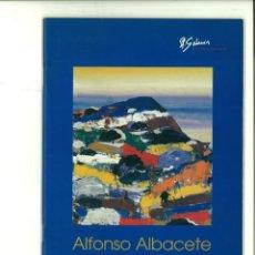 Libros de segunda mano: ALFONSO ALBACETE. CUEVA NEGRA. A. GÁRMIR GALERÍA DE ARTE. Lote 140020030