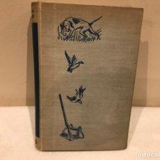 Libros de segunda mano: DICCIONARIO DE CAZA ILUSTRADO - JOSE MARIA RODERO - EDITORIAL JUVENTUD - AÑO 1955 - 7 FOTOS. Lote 140039378