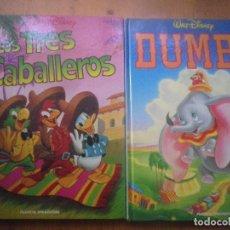 Libros de segunda mano: 2 CUENTOS CLÁSICOS DISNEY . Lote 140085562