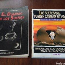 Libros de segunda mano: LOTE: EL DOMINIO DE LOS SUEÑOS Y LOS SUEÑOS QUE PUEDEN CAMBIAR SU VIDA. Lote 140241477
