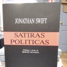 Libros de segunda mano: SATIRAS POLITICAS. JONATHAN SWIFT. Lote 140293149