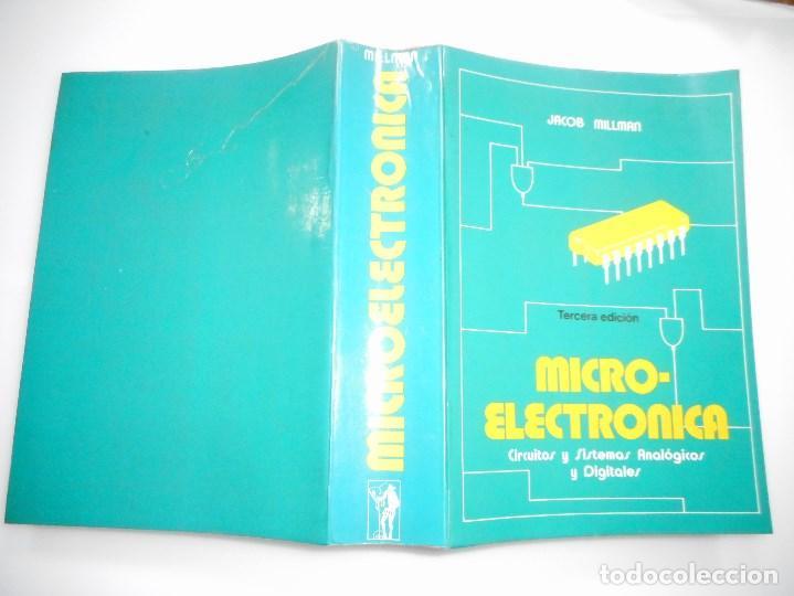 JACOB MILLMAN MICRO-ELECTRÓNICA.CIRCUITOS Y SISTEMAS ANALÓGICOS Y DIGITALES. Y91047 (Libros de Segunda Mano - Ciencias, Manuales y Oficios - Otros)