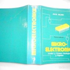 Libros de segunda mano: JACOB MILLMAN MICRO-ELECTRÓNICA.CIRCUITOS Y SISTEMAS ANALÓGICOS Y DIGITALES. Y91047. Lote 140303350