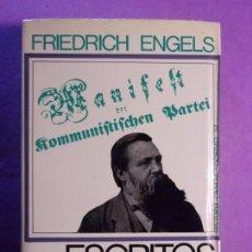 Libros de segunda mano: ESCRITOS / FRIEDRICH ENGELS / 1ª EDICIÓN 1969. EDICIONES PENÍNSULA. Lote 140341874