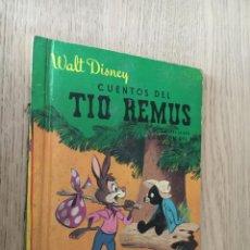 Libros de segunda mano: CUENTOS DEL TIO REMUS Nº 5 WALT DISNEY. Lote 140376482
