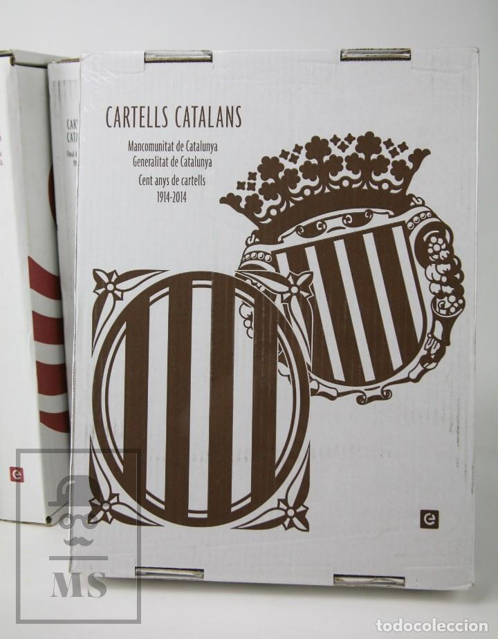 Libros de segunda mano: Colección Completa 7 Libros Gran Formato - Cartells Catalans, 1900-2014 -Enciclopèdia Catalana- #FLA - Foto 2 - 140402594