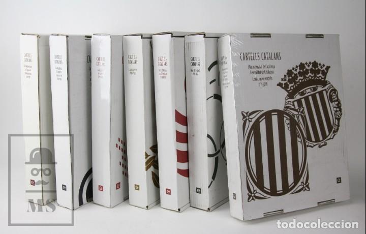 Libros de segunda mano: Colección Completa 7 Libros Gran Formato - Cartells Catalans, 1900-2014 -Enciclopèdia Catalana- #FLA - Foto 3 - 140402594