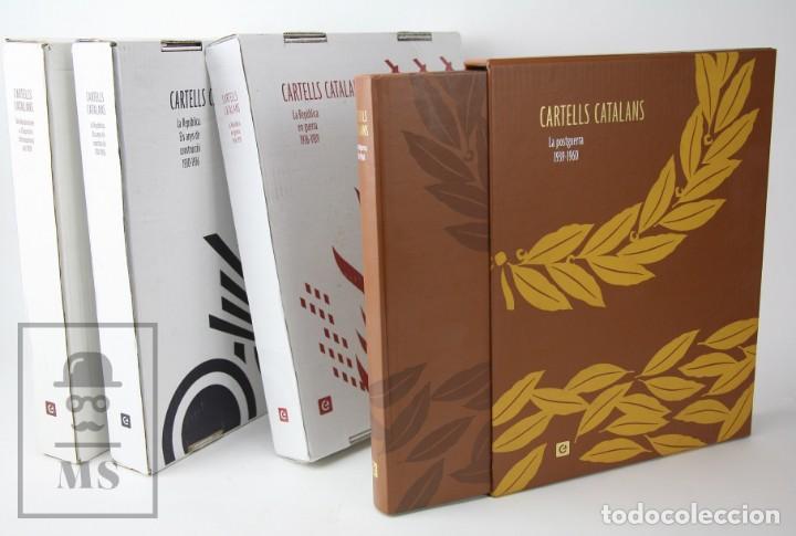 Libros de segunda mano: Colección Completa 7 Libros Gran Formato - Cartells Catalans, 1900-2014 -Enciclopèdia Catalana- #FLA - Foto 5 - 140402594