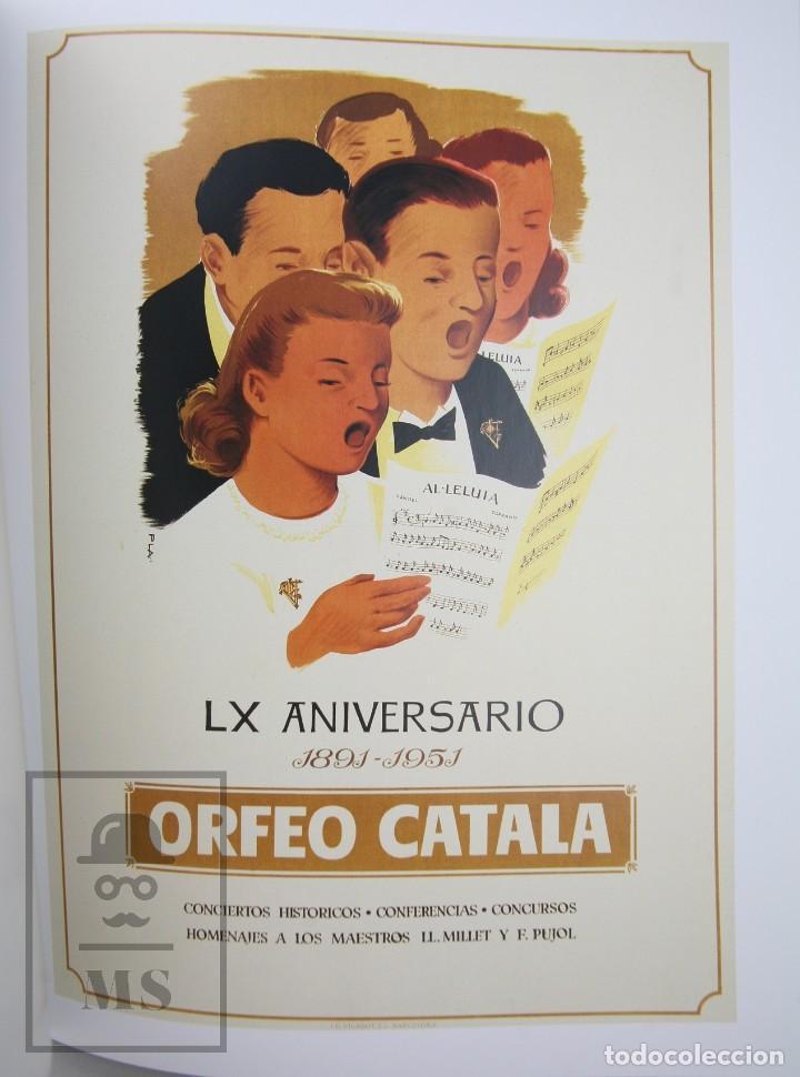 Libros de segunda mano: Colección Completa 7 Libros Gran Formato - Cartells Catalans, 1900-2014 -Enciclopèdia Catalana- #FLA - Foto 13 - 140402594