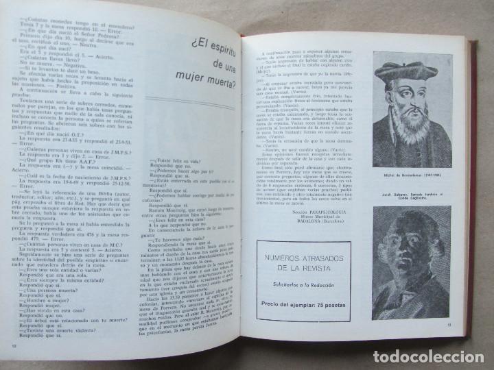 Libros de segunda mano: Ecos de parapsicología Revista de fenomenología paranormal. Primeros 9 números 1974-95 - Foto 5 - 140414902