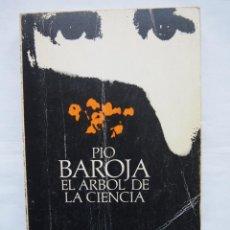 Libros de segunda mano: PÍO BAROJA. EL ÁRBOL DE LA CIENCIA. ALIANZA EDITORIAL.. Lote 140418510