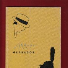 Libros de segunda mano: EDUARDO ARROYO GRABADOR CATÁLOGO EXPOSICIÓN MUSEO CASA DE LA MONEDA 1994 FIRMADO Y FECHADO A LÁPIZ. Lote 140441382