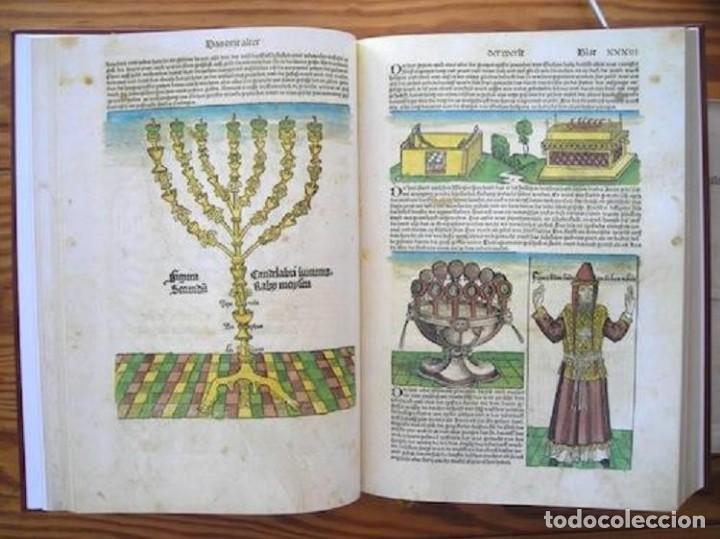 CRÓNICA MUNDIAL (S. XV), FACSÍMIL ÍNTEGRO EN COLOR (Libros de Segunda Mano - Bellas artes, ocio y coleccionismo - Otros)