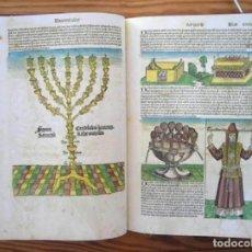 Libros de segunda mano: CRÓNICA MUNDIAL (S. XV), FACSÍMIL ÍNTEGRO EN COLOR. Lote 219041573