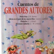Libros de segunda mano: CUENTOS DE GRANDES AUTORES. PARRAMÓN. 1992. (P/B74). Lote 140521506