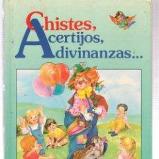 Libros de segunda mano: CHISTES, ACERTIJOS, ADIVINANZAS... . SUSAETA 1989. (P/B74). Lote 140522314