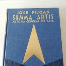 Libros de segunda mano: SUMMA ARTIS, HISTORIA GENERAL DEL ARTE, VOL. X, ARTE PRECOLOMBINO, MEXICANO Y MAYA, ESPASA 1984. Lote 140555422