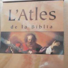 Libros de segunda mano: L'ATLES DE LA BIBLIA -UN VIATGE SOCIAL I HISTÒRIC PER LES TERRES DE LA BÍBLIA.. Lote 140586894