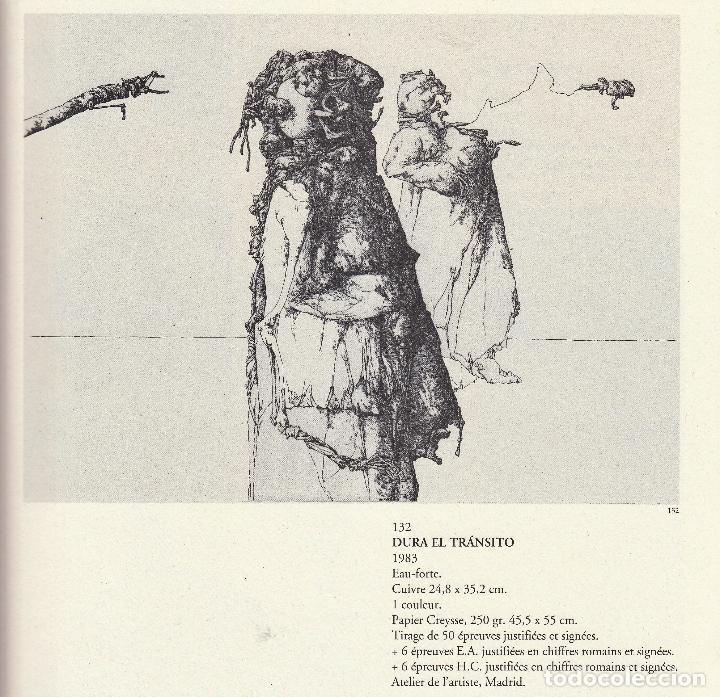 Libros de segunda mano: JOSÉ HERNÁNDEZ OBRA GRÁFICA COMPLETA 1967 1996 CATÁLOGO RAZONADO DEDICADO Y FIRMADO A MANO MUY RARO - Foto 9 - 140591754
