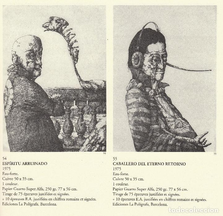 Libros de segunda mano: JOSÉ HERNÁNDEZ OBRA GRÁFICA COMPLETA 1967 1996 CATÁLOGO RAZONADO DEDICADO Y FIRMADO A MANO MUY RARO - Foto 12 - 140591754