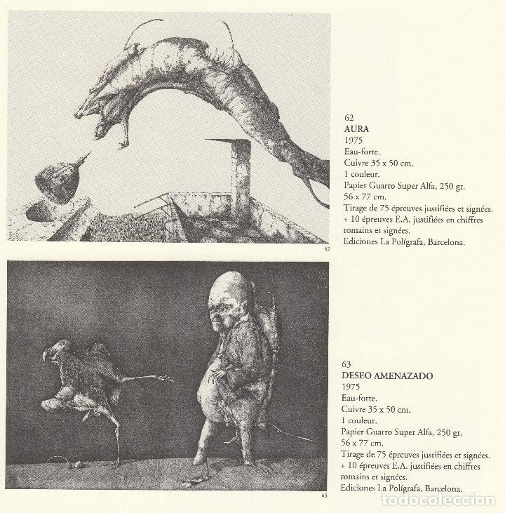 Libros de segunda mano: JOSÉ HERNÁNDEZ OBRA GRÁFICA COMPLETA 1967 1996 CATÁLOGO RAZONADO DEDICADO Y FIRMADO A MANO MUY RARO - Foto 15 - 140591754